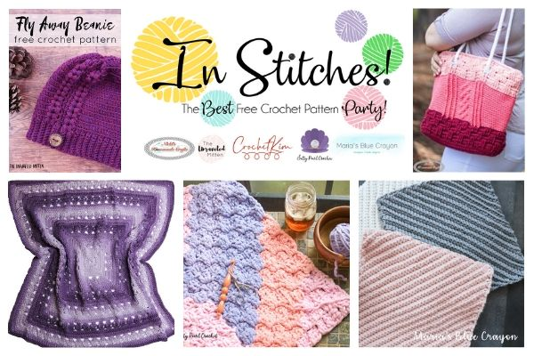 In Stitches #37 | Latest Free Crochet Patterns from your Link Party Hosts