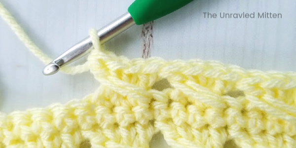 Crossed Cable Stitch | Step 2 | The Unraveled Mitten
