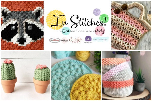 In Stitches #40 | Best Free Crochet Pattern Link Party