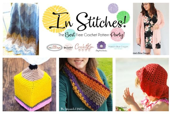 In Stitches #43 | Crochet Pattern Link Party | The Unraveled Mitten