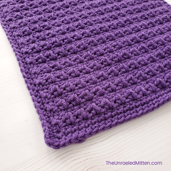 Mixed Cluster Crochet Stitch Tutorial | The Unraveled Mitten