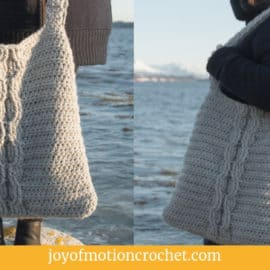 Crochet Autumn Leaves Shawl – FREE Tunisian Crochet Pattern