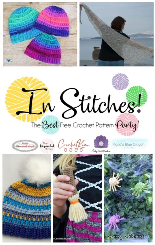 In Stitches #46! Join our Free Crochet Pattern Link Party. Submit your pattern or browse the latest free crochet patterns from tons of talented designers.