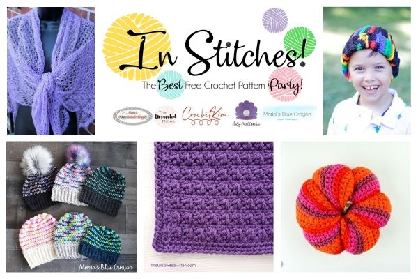 In Stitches #44   Free Crochet Pattern   The Unraveled Mitten