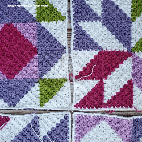 Sweet Lilac Quilt Inspired CAL | The Unraveled Mitten