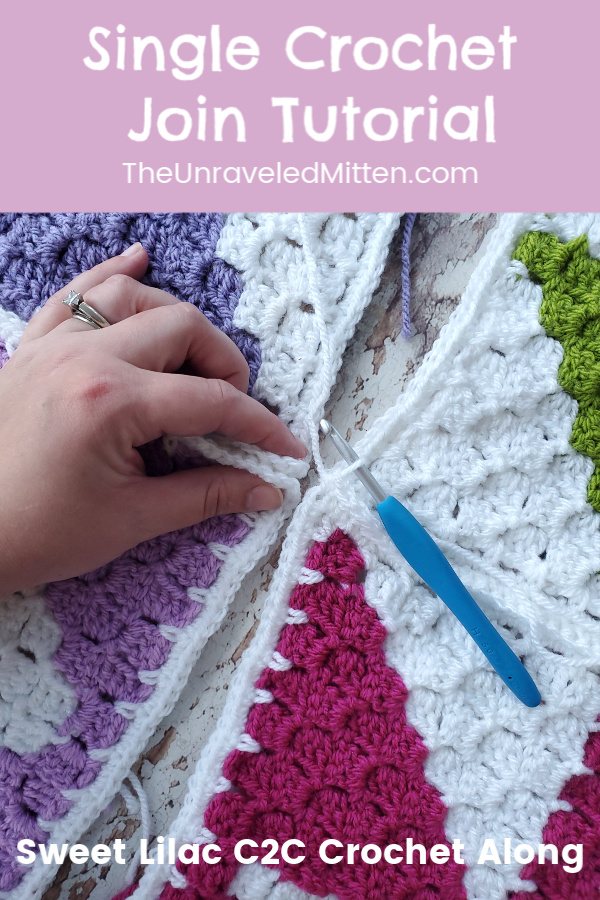 Single Crochet Join | The Unraveled Mitten