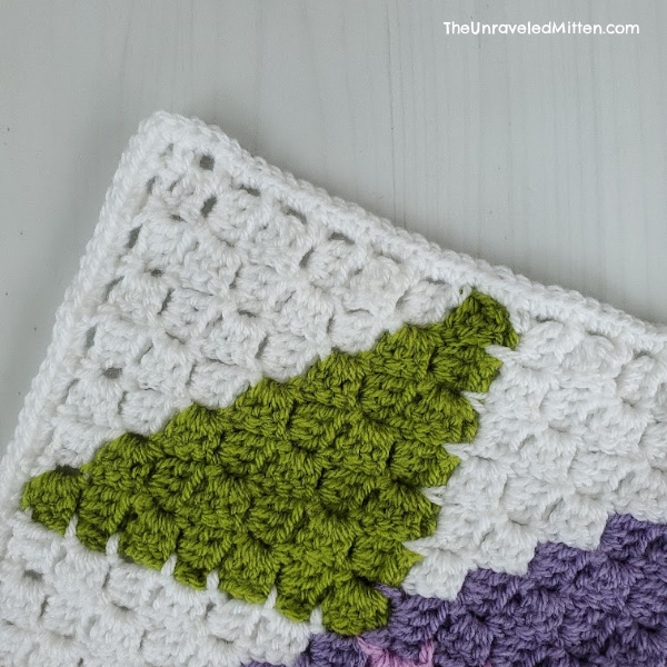 C2C Easy Crochet Border