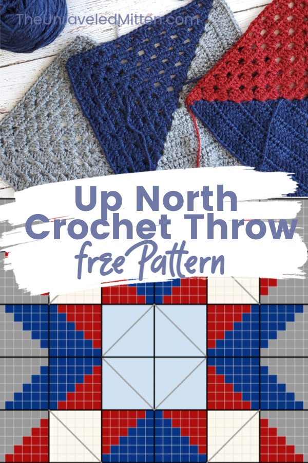 Up North Throw   Mixed Up Granny Square   Quilt Inspired Crochet Pattern   The Unraveled Mitten