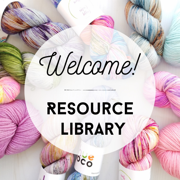 Welcome to the Crochet Resource Library