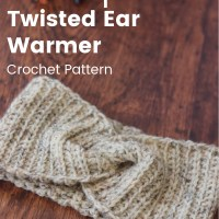 Easy Crochet Headband Pattern | Stoneport Twist Earwarmer