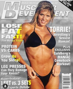 Torrie Wilson graced the cover of many magazines