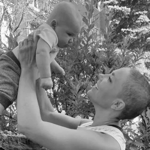 Jordana calls her son a little warrior