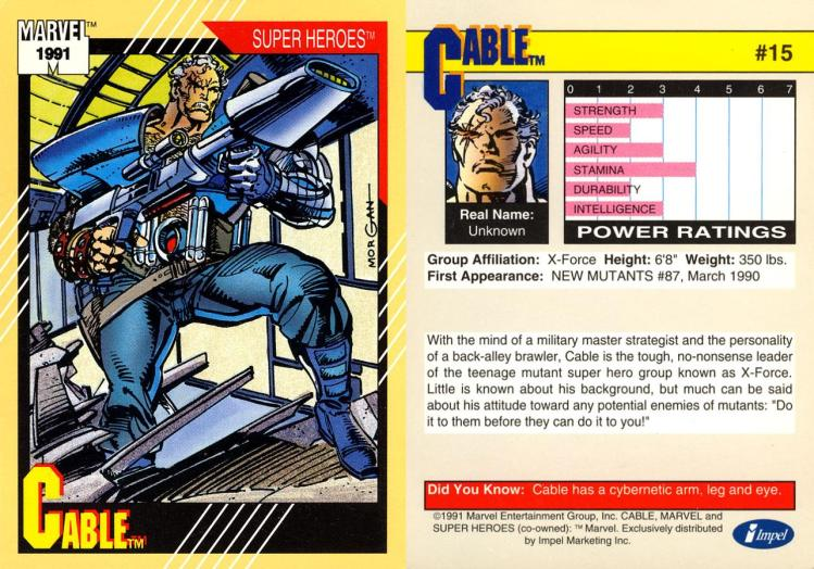 cable 1991