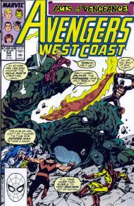 050 West Coast Avengers #54 - Page 1