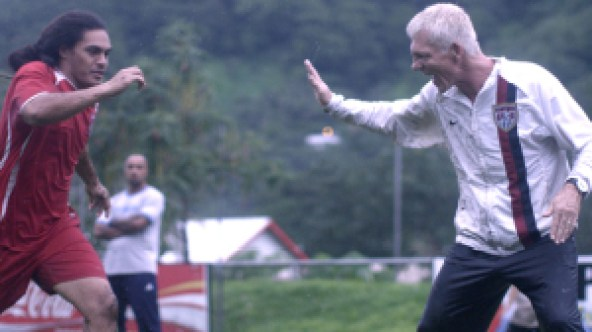 Rongen's time with the American Samoan National Team is chronicled in the documentary 'Next Goal Wins.'
