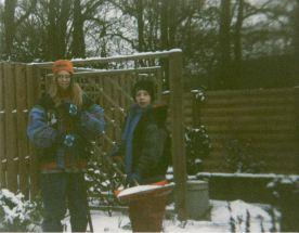 Zus en Ik sneeuw