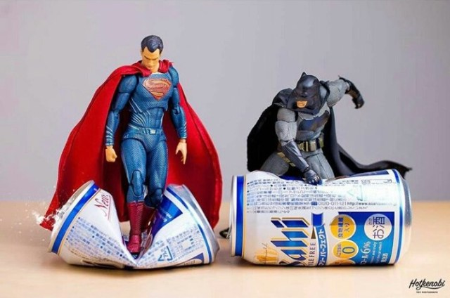 The Unvisited miniature superhero by a japanese photographer