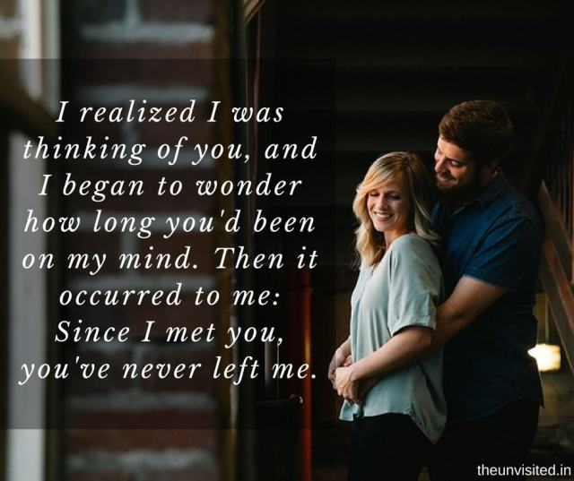 14 Lines Better Than 'I love You' That Will Make Your Partner Feel Extra Special 2 the unvisited