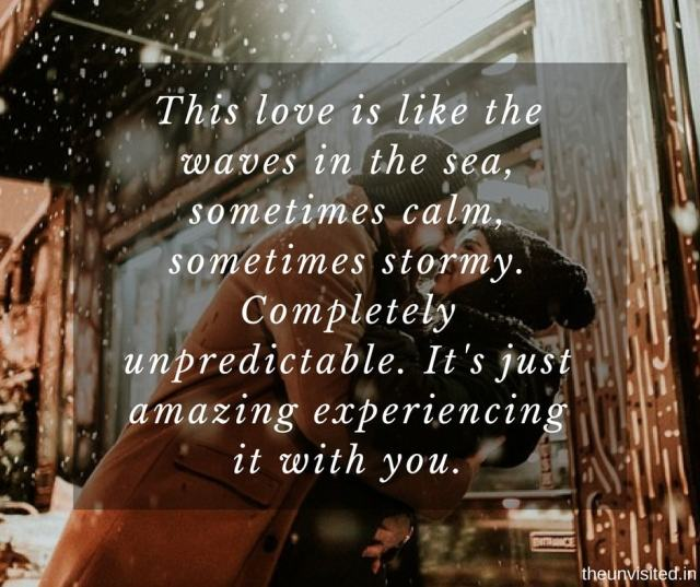 14 Lines Better Than 'I love You' That Will Make Your Partner Feel Extra Special 8 the unvisited