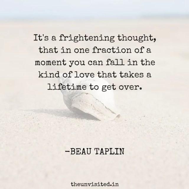 beau taplin love quotes poetry heartbreak quote sad the unvisited 3