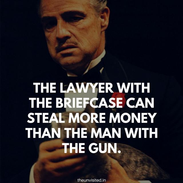 godfather quotes the unvisited movie hollywood Don Vito Corleone 5