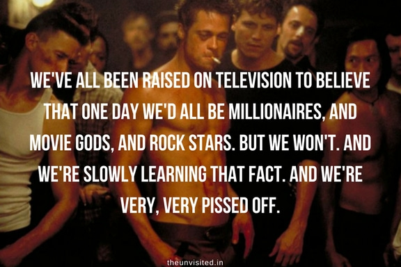 the unvisited fight club quotes brad pitt 7