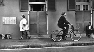"""French Quarter"" is Langley Anderson's ""all-time"" favorite piece. It is a silver gelatin print."