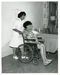 513-AS Indian School of Practical Nursing student Roselene Johnson, May 1970