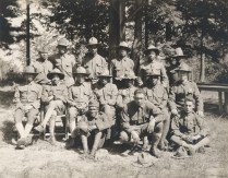Hospital Corps Detachment prior to shipping out. Local Identifier, 165-WW-127-15.