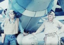 Lt. JG George Marvin Campbell and ARM 2nd Class Ronald Joseph Fisher