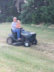 Mowing helper