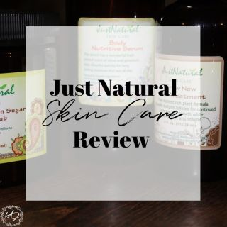 just natural skin care reviews