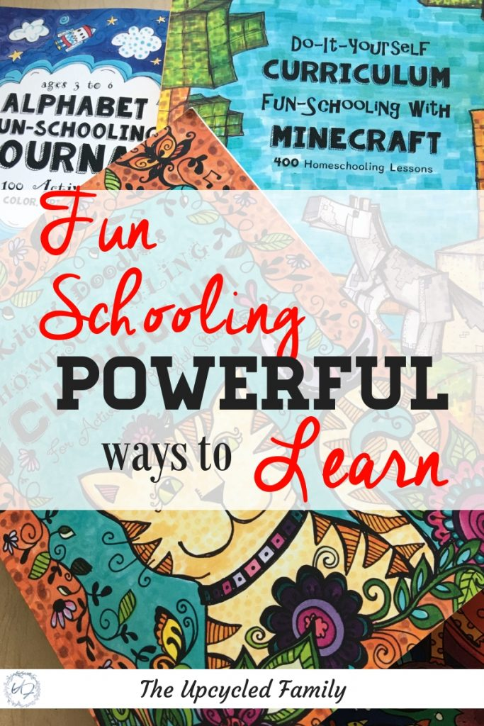 "Homeschooling and homeschool curriculum decisions can be difficult! Fun-Schooling what it is and why do it. Out with the old, rigid, ""boring"" methods of learning in with the new homeschool ideas like creative and fun ways to learn. 6 Reasons why you will love funschooling! #homeschool #homeschooling #homeschoolideas #homeschoolideas #homeschooltips #homeschoolcurriculum #funschooling"