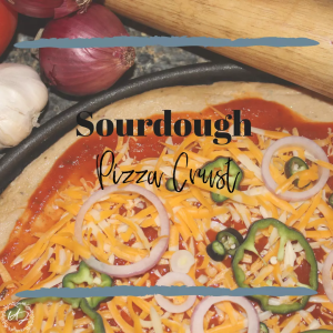 Sourdough pizza crust recipe