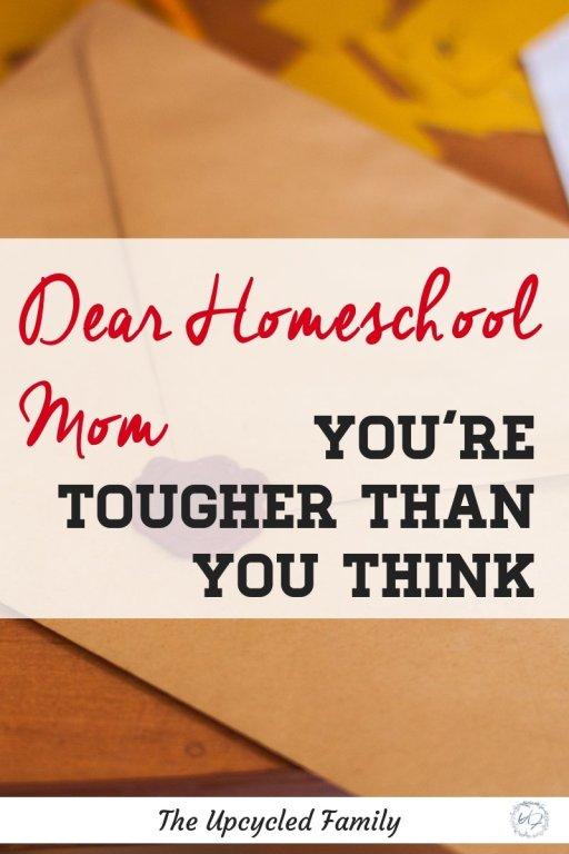homeschool mom encouragement