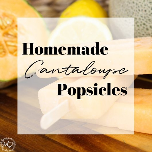 Need more fun ways to use all that garden-fresh cantaloupe. Try these simple, healthy cantaloupe popsicle recipe. Made with just 4 healthy ingredients.
