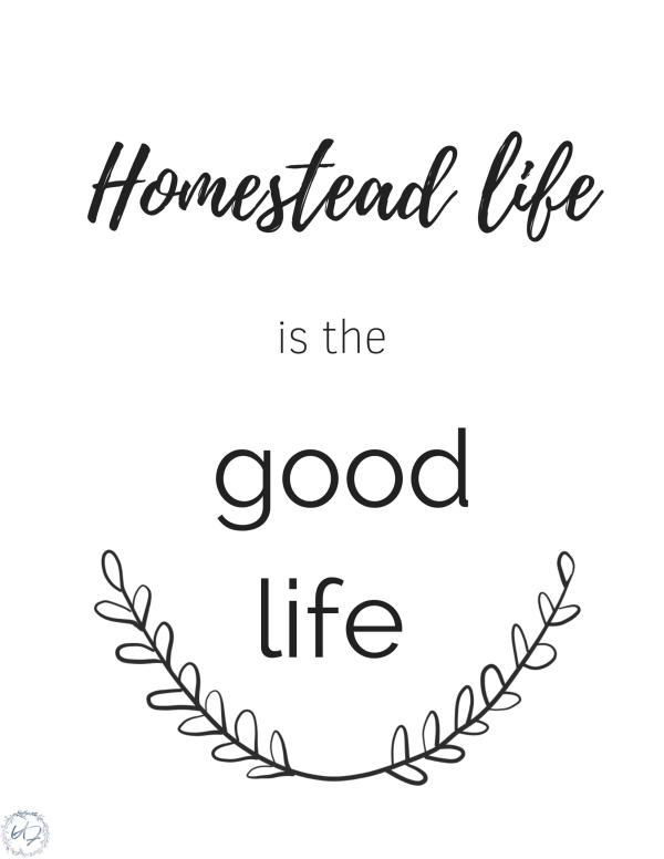 homestead life wall art