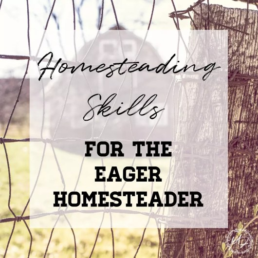 Dreaming about a one day homestead? These 17 homesteading skills are the perfect place to start while waiting to start your homestead.