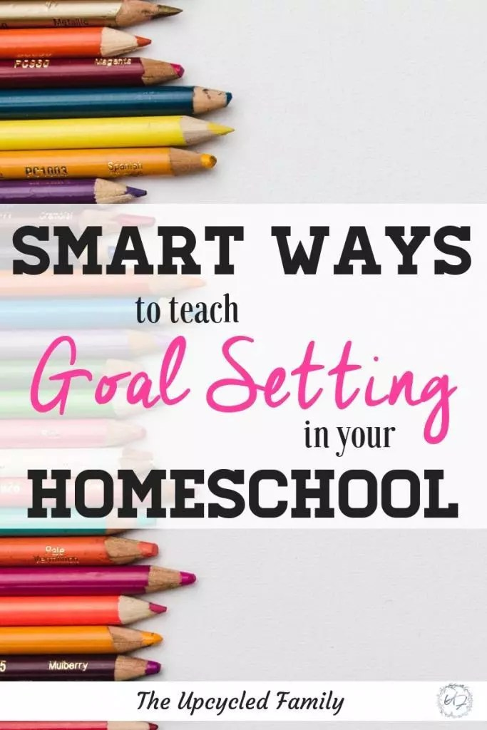 Smart ways to teach goal setting in your homeschool. Fun ways to teach and encourage goal setting. Establish a life-long love of personal growth for young learners! #teachinggoalsettingforkids #goalsettingworksheet #goalsettingforkids #goalsettinghomeschool #goalsettingfreeprintable