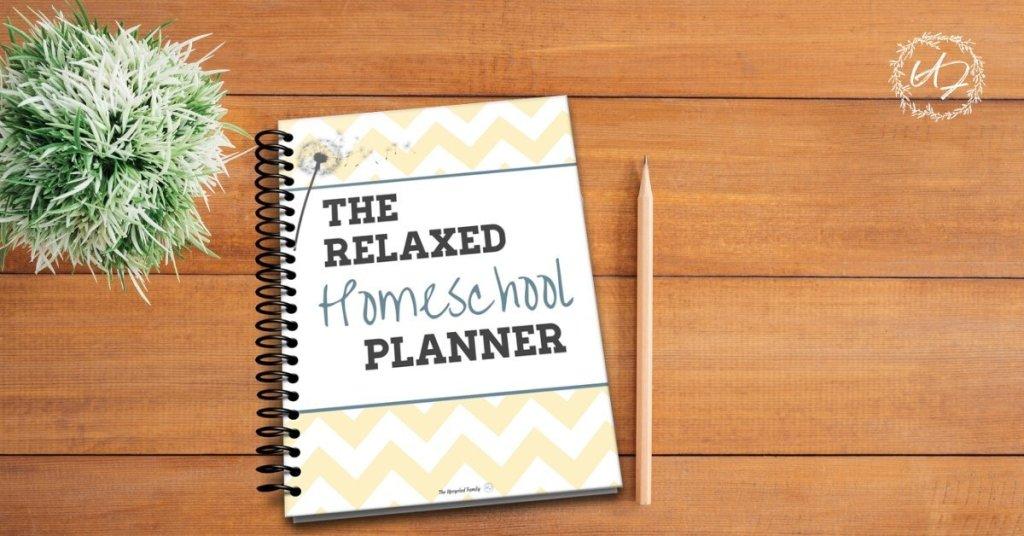 Relaxed Homeschool Planner