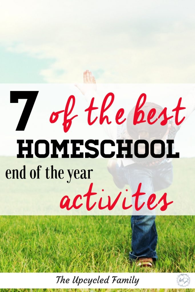 End of the homeschool year? End your homeschool year the right way with this list of fun, memorable and special ways to end your homeschool year with a bang! #homeschool #endofyear #activities #memorymakingbook #ideas #party #activities