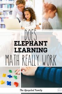 Are your kids struggling with math? Elephant learning claims it can teach your kids 1 year of math in 90 days. We tried it and this is what happened. Elephant learning math review. #elephantlearningmath #elephantlearningreview #elephantlearningmathreview #onlinemathprograms #homeschoolmath #homeschool #mathematics #curriculum #online