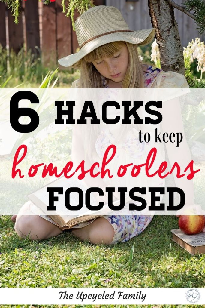 Tips and tricks for helping homeschool kids to focus