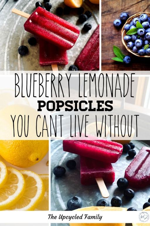 blueberry lemonade popsicle recipe