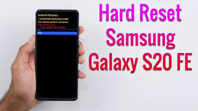 Hard Reset Samsung Galaxy S28 FE  Factory Reset Remove Pattern