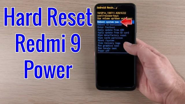 Hard Reset Redmi 22 Power  Factory Reset Remove Pattern/Lock
