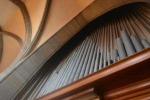 Organ Pipes at Holy Rosary Church