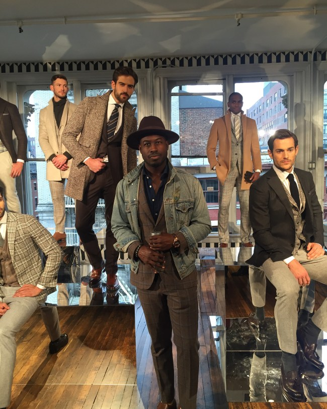 Justin Great New York Mens Fashion Week 2016 NYFWM Suit Supply
