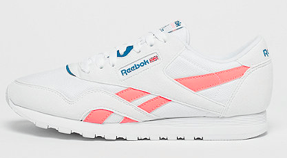 Reebok Classic Leather Nylon Retro pink