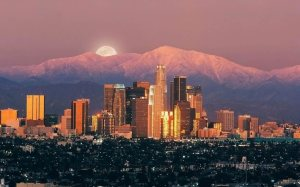 Los-Angeles-City-Moon-United-States